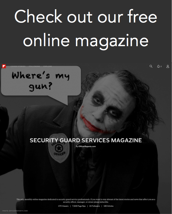 Security Guard Services Magazine